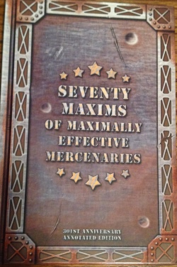 Image result for seventy maxims cover